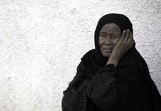 A Nubian old woman from deep south of Egypt. | by sanguedolces