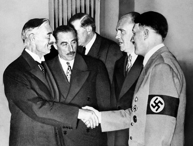 a history of appeasement policy in world war ii Prior to world war ii, great britain and france pursued an appeasement policy toward nazi germany during hitler's wave of territorial expansion in the.