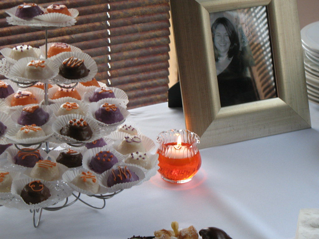 wedding shower petit fours by chpbaking