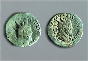 pi ces de monnaie gallo romaines l 39 effigie de l 39 empereur flickr. Black Bedroom Furniture Sets. Home Design Ideas