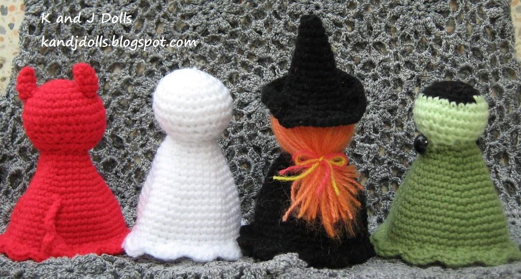 Halloween Amigurumi Crochet Pattern : Halloween amigurumi crochet pattern: devil ghost witch au2026 flickr