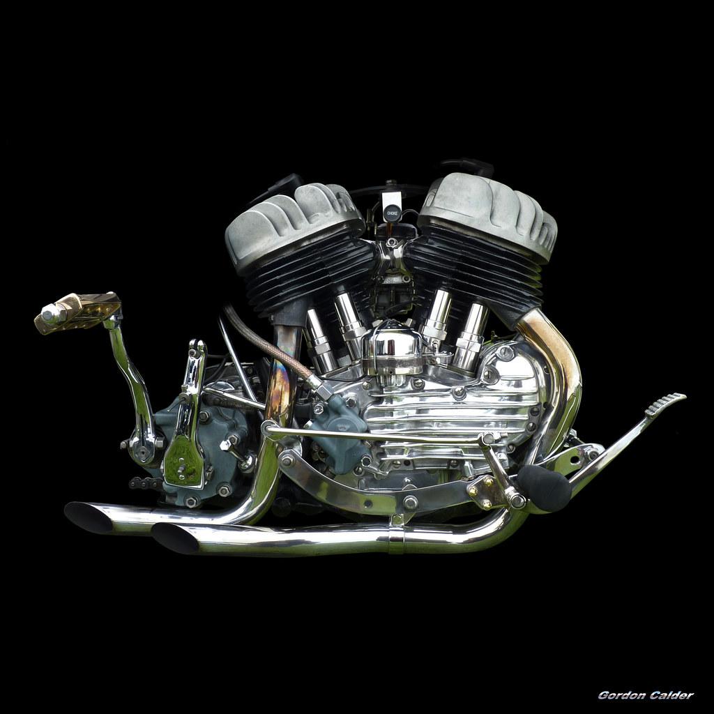 No111: CLASSIC HARLEY DAVIDSON FLATHEAD V-TWIN ENGINE   Flickr
