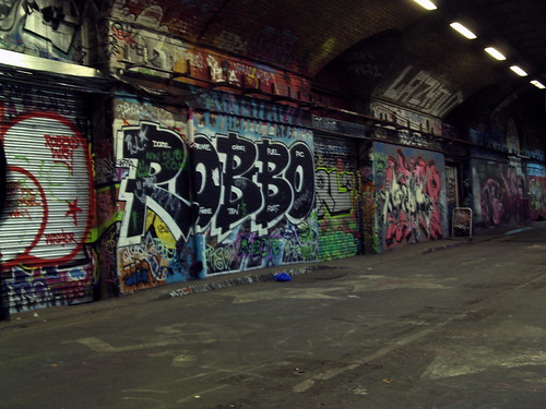 Waterloo >> Robbo Graffiti, The Tunnel, Waterloo, London - 3 | The Tunne… | Flickr