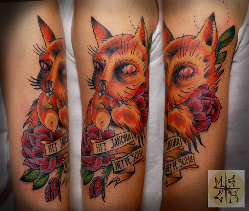 No law no reason neotraditional tattoo for Tn tattoo laws