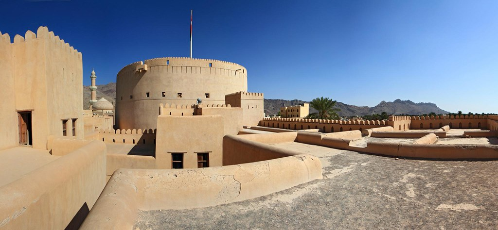 Nizwa Fort Nizwa Is The Largest City In The Al