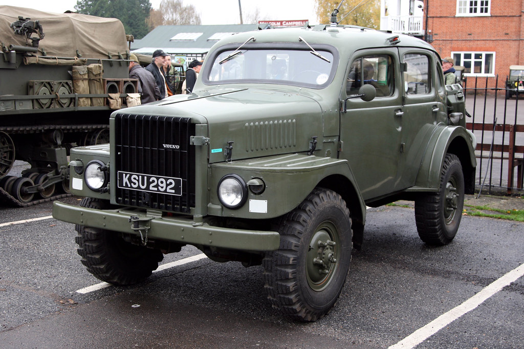Brooklands Museum Military Vehicles Day 1956 Volvo Tp21 Flickr
