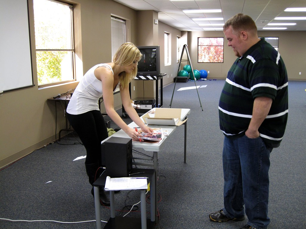 Blonde Porn Star Alexis Texas Signing Autographs At Work -5844