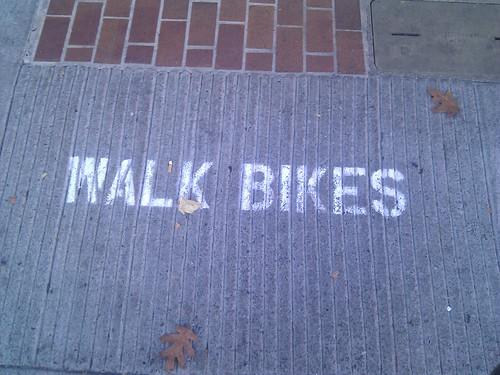 Walk Bikes