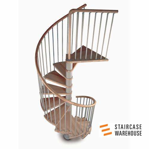 Wonderful ... C20 Plus Kit Spiral Staircase Stairs By Staircase Warehouse 01 | By Staircase  Warehouse