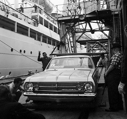 1967 HR Holden Sedan LHD - Export Model Press Photo | Flickr