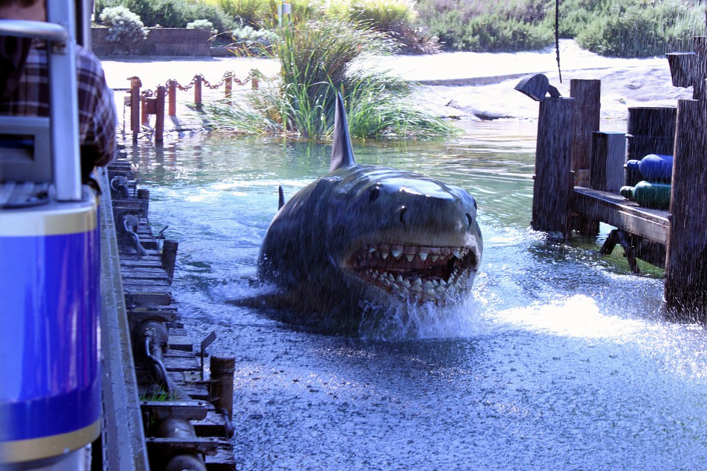 Jaws A Mechanical Shark Named Bruce Universal Studios