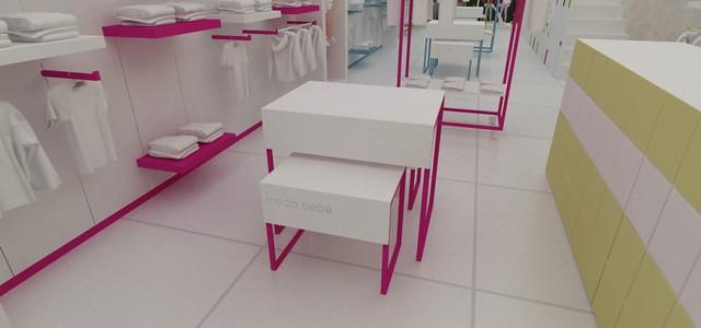 Diseño de Mobiliario para Tienda de ropa de Bebe  Flickr ...