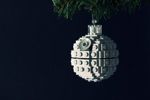 Build It Yourself: Death Star Ornament | by powerpig