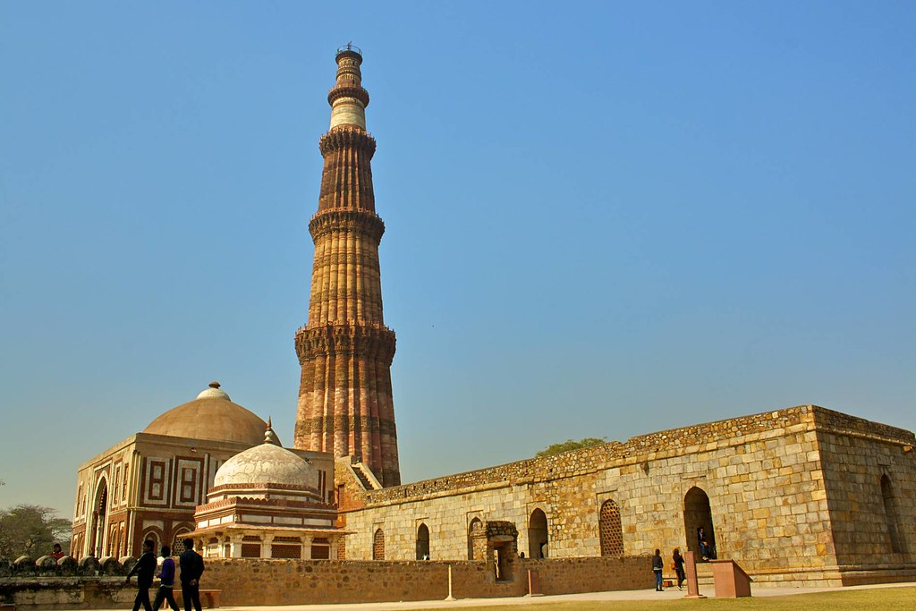 Qutub Complex   The Qutub Minar is notable for being one ...
