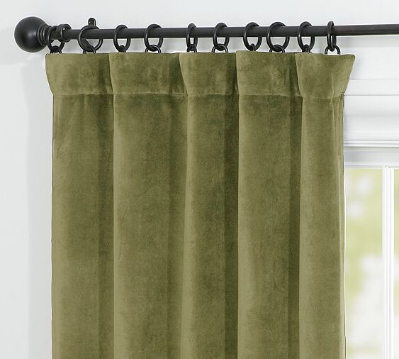 Green Velvet Curtains For Sale Net Curtains for Sale