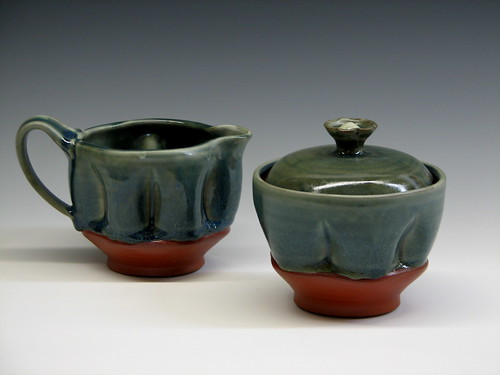 Creamer sugar set | by Pincu Pottery