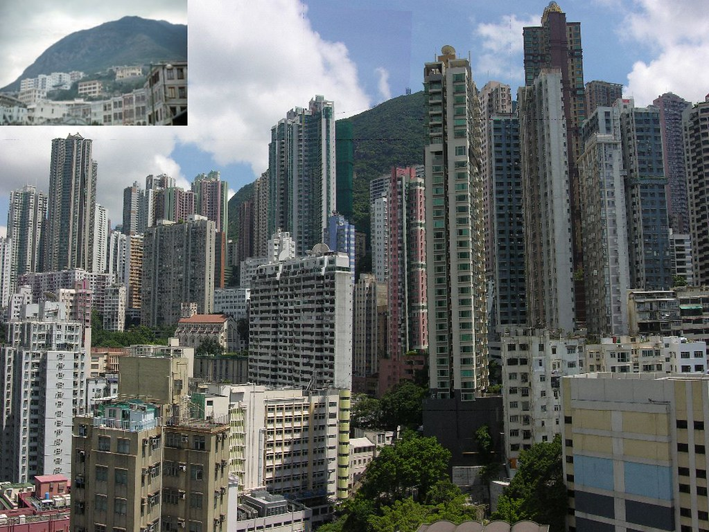 Mid Levels Now and Then, Hong Kong Now and Then