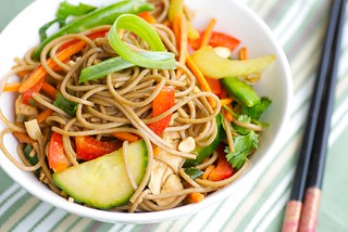 Asian Chicken and Soba Noodle Salad | by Food Blogga