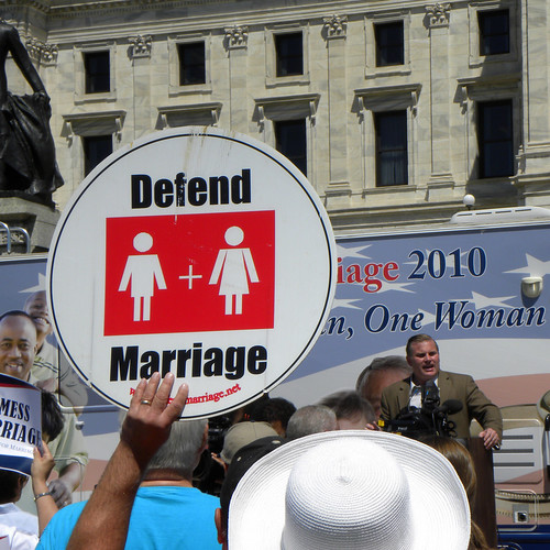 National Organization for Marriage rally against same-sex marriage | by Fibonacci Blue
