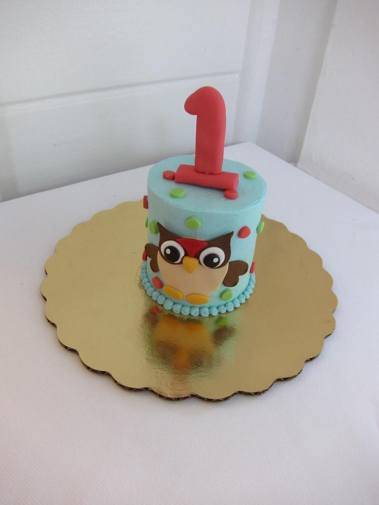 Owl Birthday Cake Pan