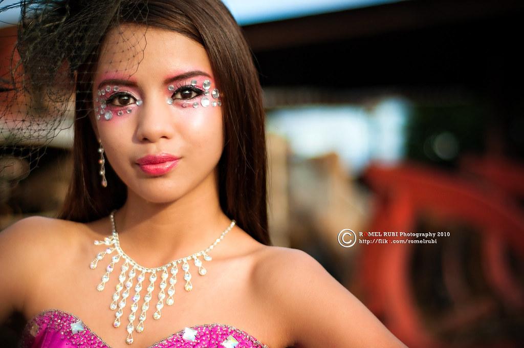 High Fashion Avant Garde Makeup Photoshoot