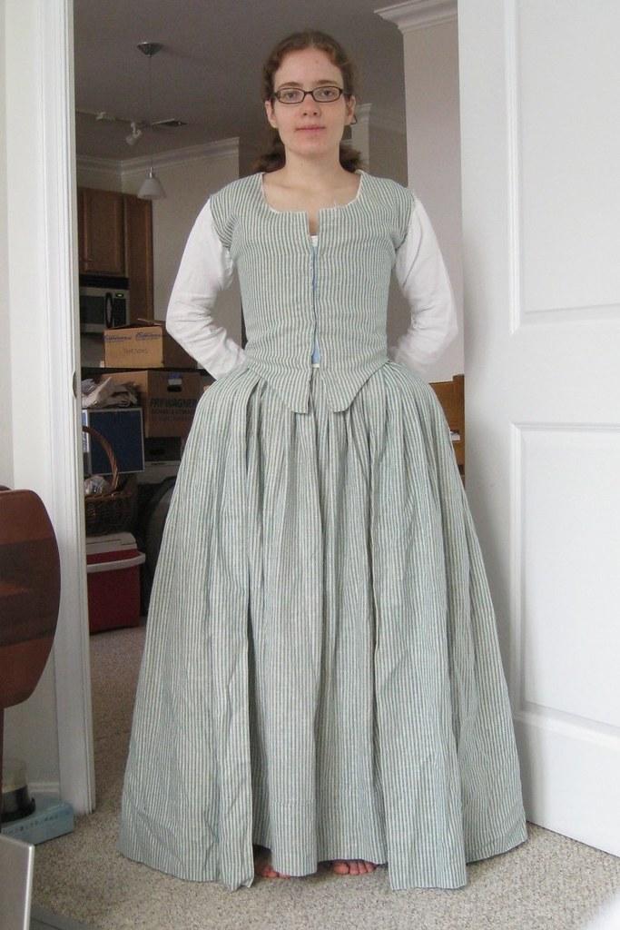 Anglais In Front Flickr … Bottom Progress Sewn Pleats Robe Skirt TndBYwx6q