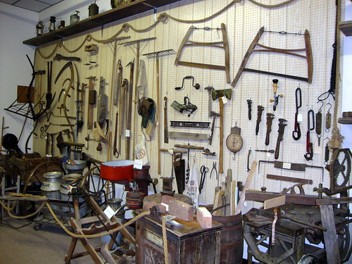Wall Full Of Antique Tools, Taylor County Historical Society Museum. | by dccradio