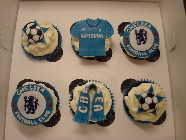 Chelsea Football Club Cupcakes Flickr Photo Sharing