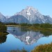 Reflection in the Grand Tetons