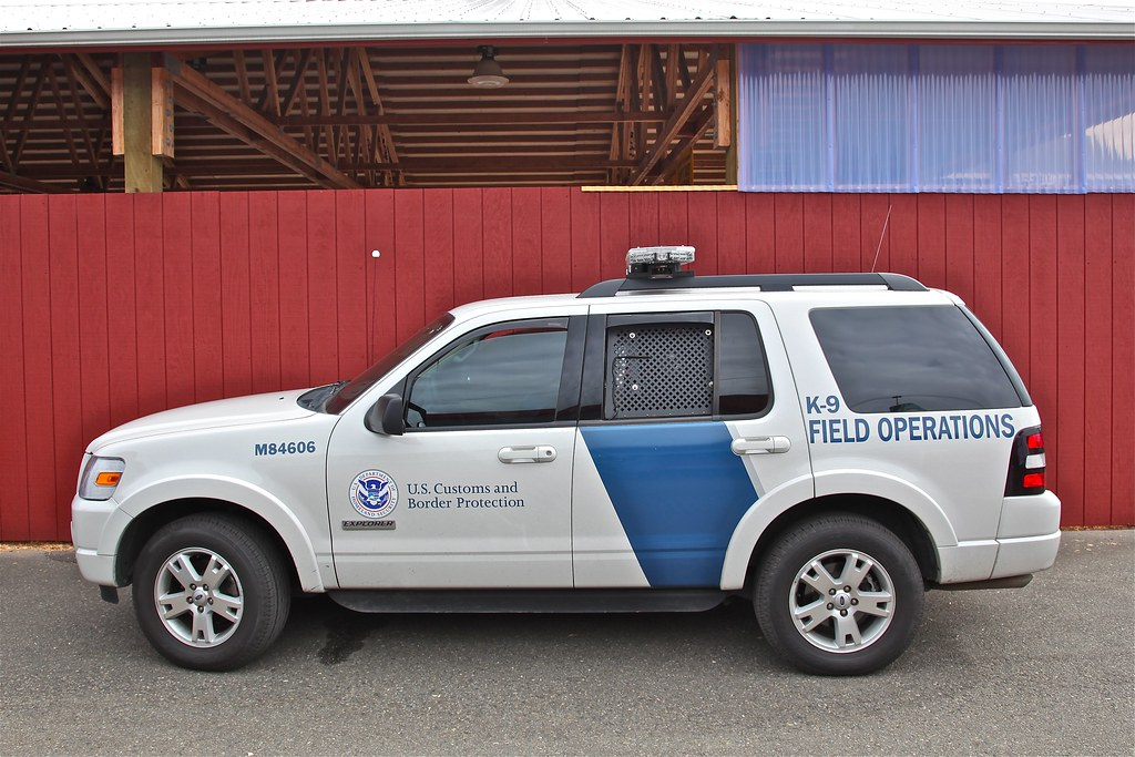 New Ford F150 >> DHS US Customs and Border Protection K-9 Ford Explorer IMG ...