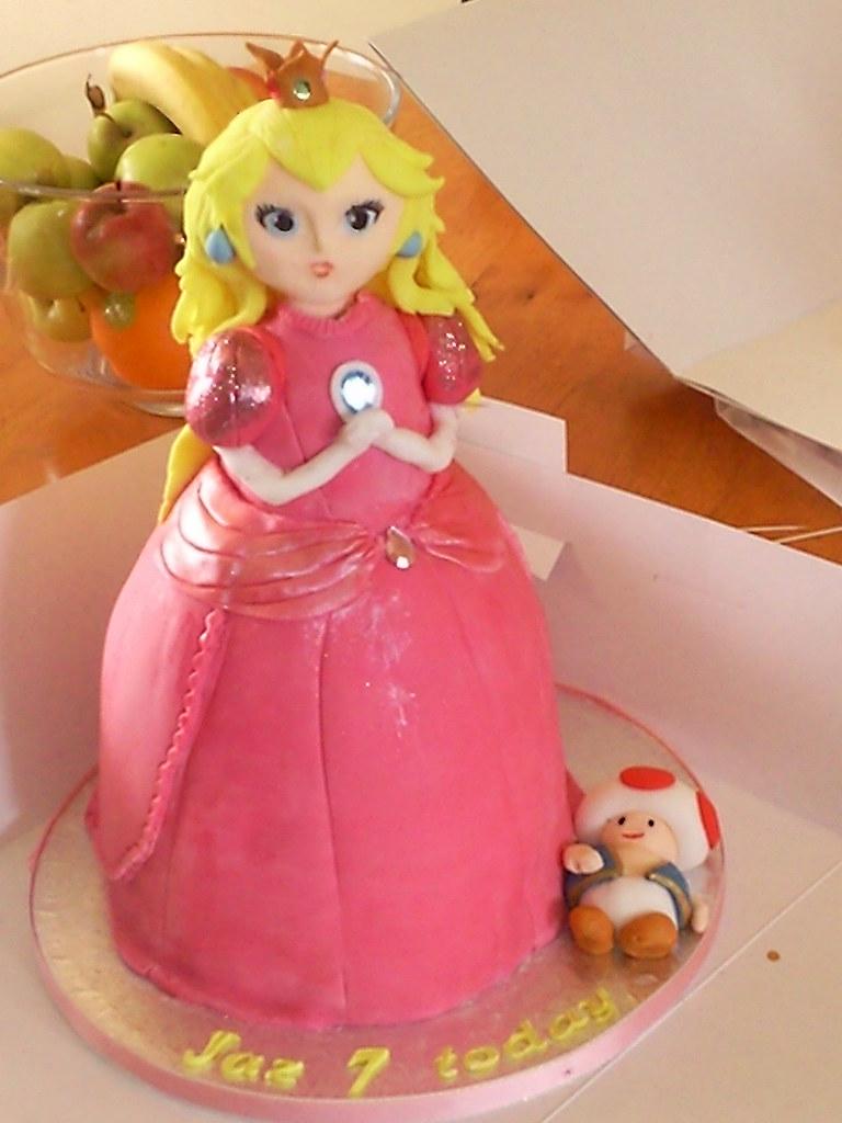 Princess Peach Cake Pan
