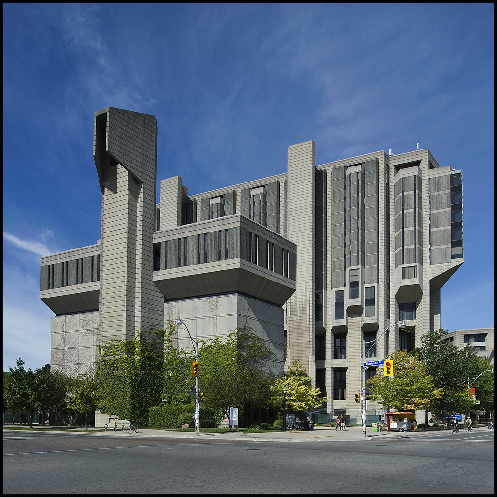 A picture of Robarts Library