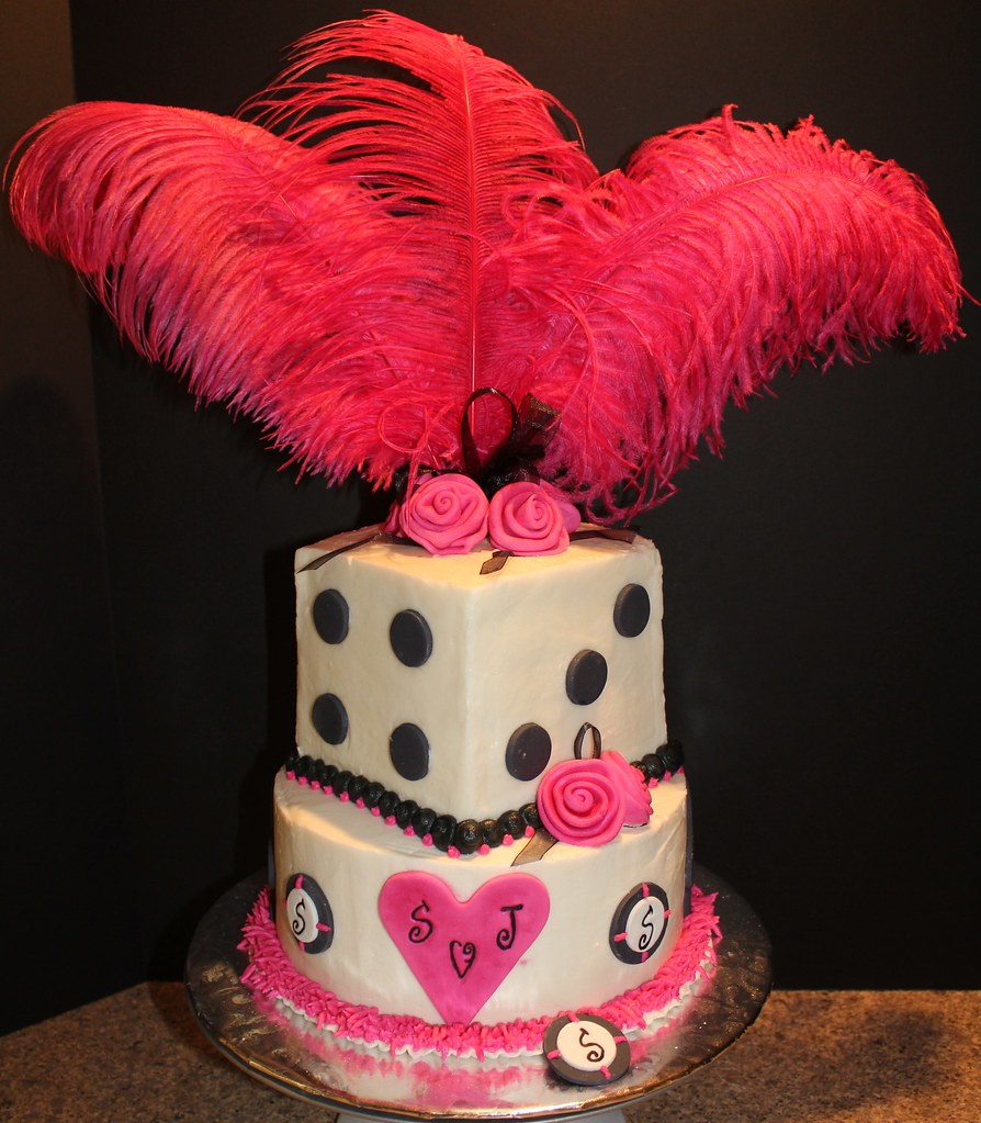 vegas showgirl by raspberry n creme cakes