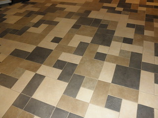 Henderson Library Tile Floor | This is a photo of the Hender