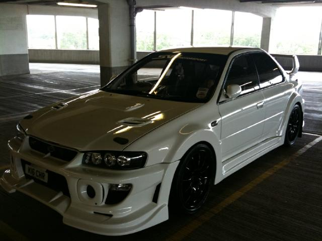 Scooby Subaru Nos Cars Modified Wide Arch Scoby Mclintock 5 Flickr