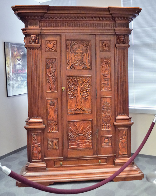 The Wardrobe From Chronicles Of Narnia The Lion The