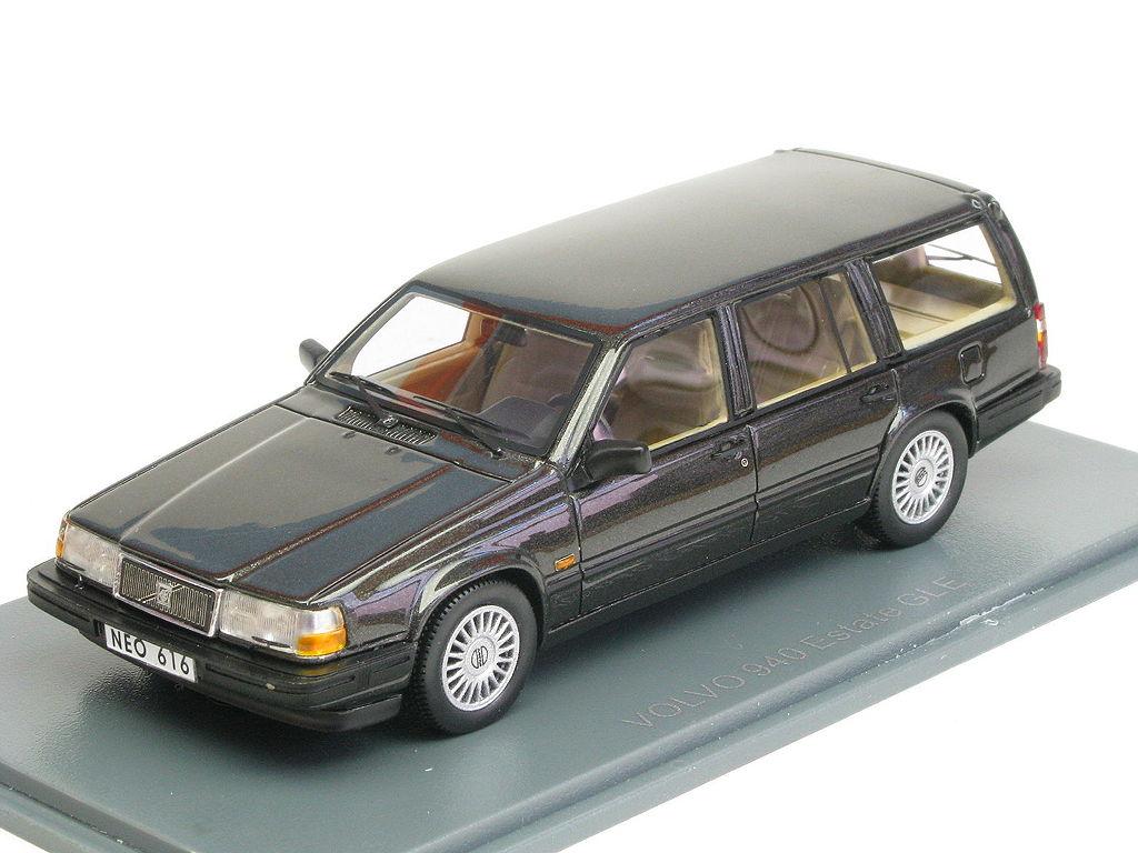 Volvo 940 Gle Turbo Estate Antracite Neo Scale Models Neo