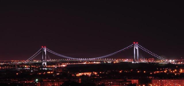 Verrazano-Narrows Bridge at Night | Explore alilovell's ...
