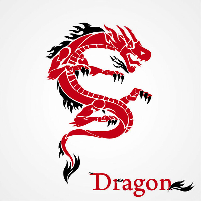 graphic design dragon tattoo creative design flickr