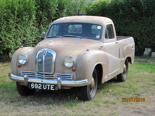 Austin A70 Ute Pick Up From 1951 Built On The 20th Of