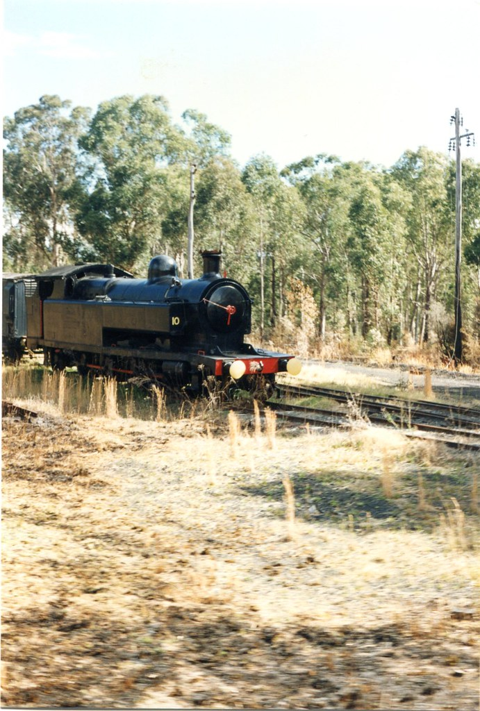 1911 282T Kitson Steam Engine No10  Richmond Vale Rail