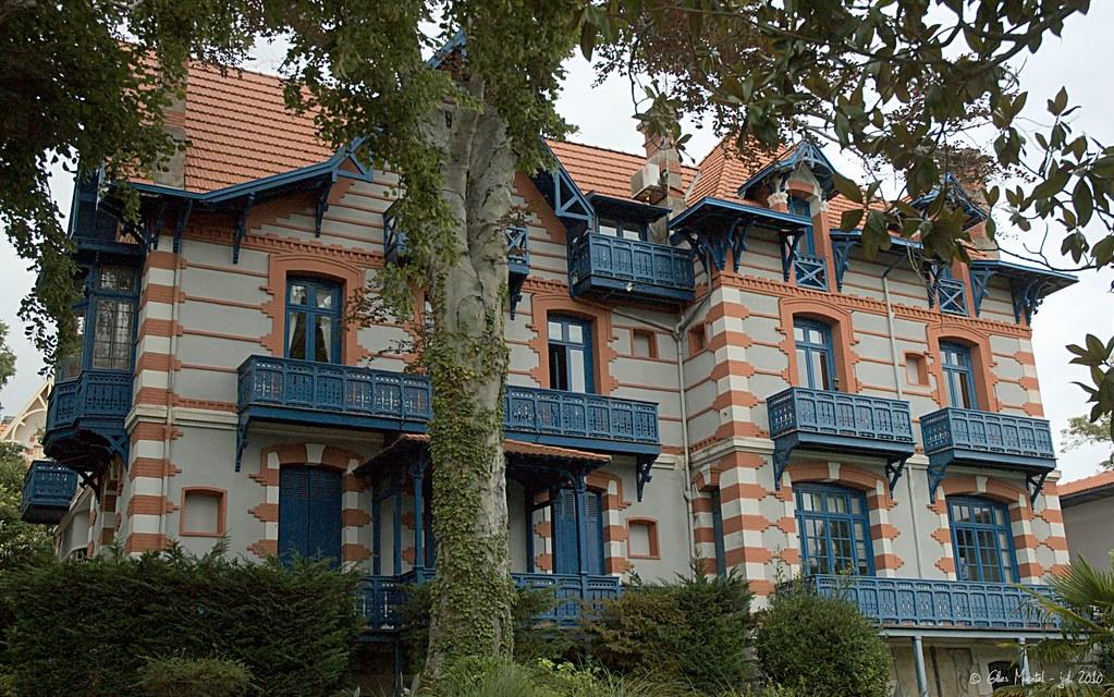 Arcachon ville d 39 hiver villa vincenette cette villa for Conception de la villa