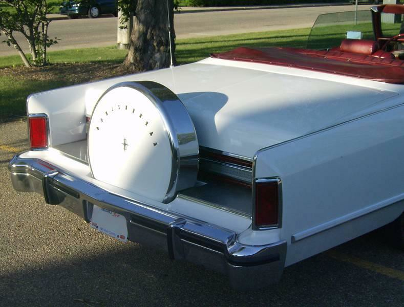 1979 Lincoln Town Coupe Convertible 4 Rare 1979