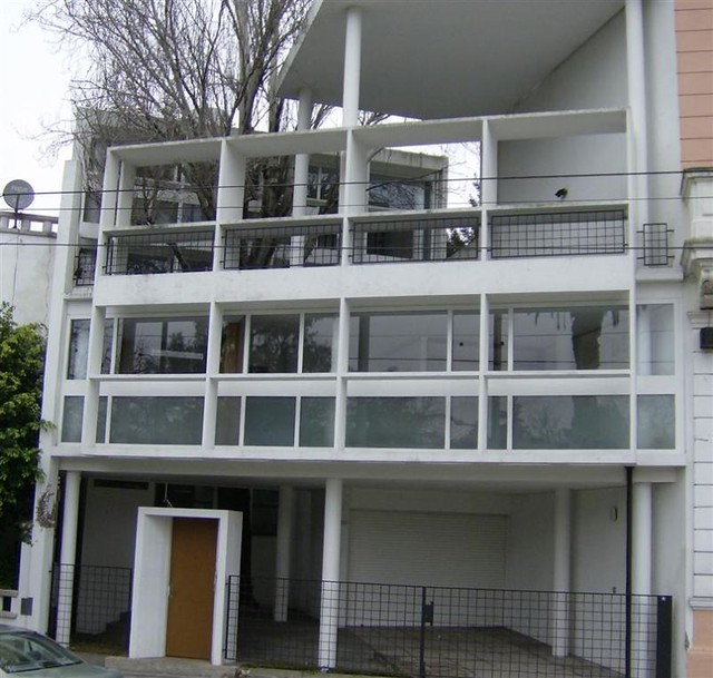 Argentina la plata le corbusier casa curutchet - Casas de le corbusier ...