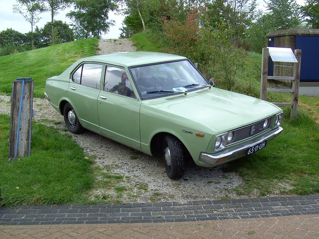 1972 Toyota Carina 1600 David Van Mill Flickr