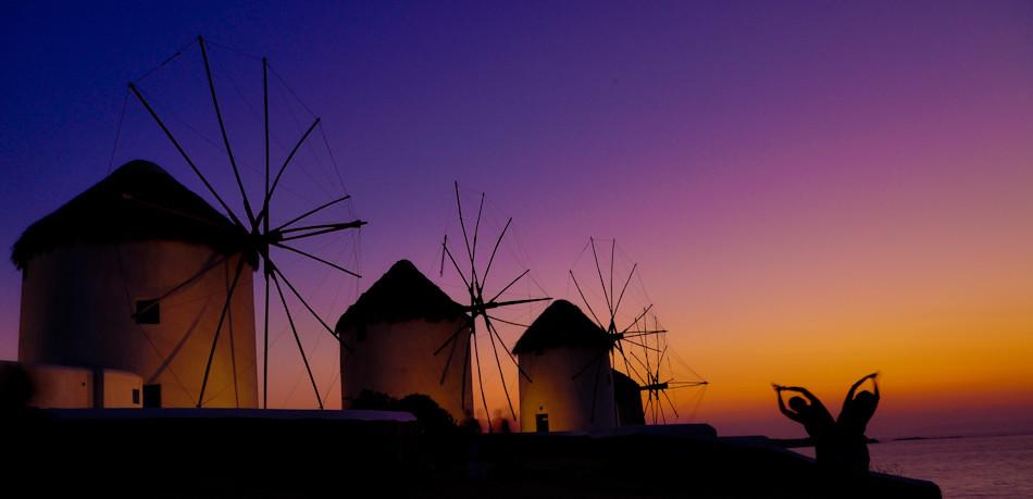 Windmills of Mykonos, Greece | The windmills of Mykonos