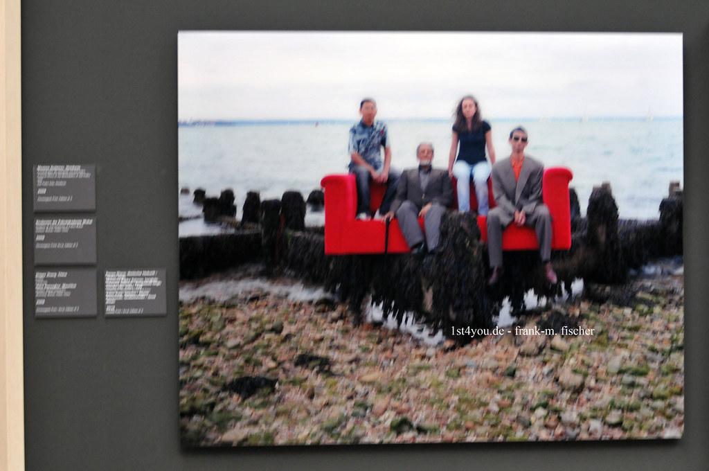 Here There Horst Wackerbarth Und Die Rote Couch Im Leh Flickr