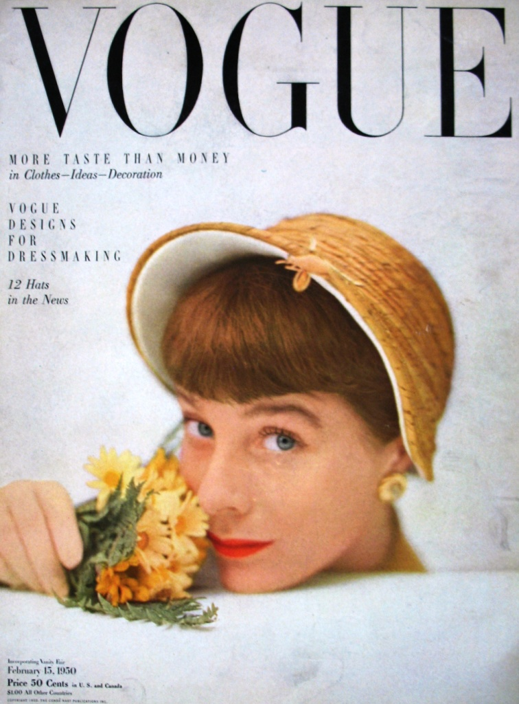 Vogue February 1950 Fashion Magazine Vogue February 1950 Flickr