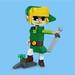 Lego Wind Waker Link