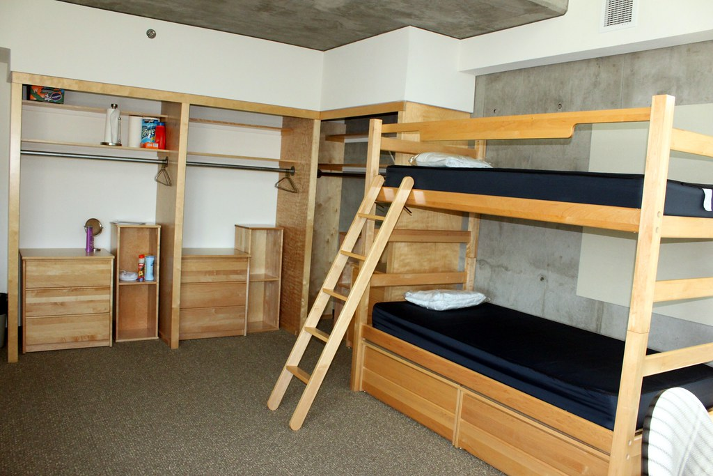 Loft Bed Plans For College